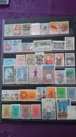 76Timbres Neufs Et Oblitérés Tous Différents - Briefmarken