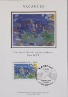 FR. - 2004 - CP 1er Jour - Vacances EUROPA - Strasbourg Le 09.05.2004 - SUPERBE - 2000-09