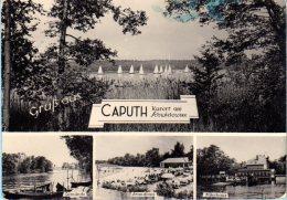 Schwielowsee Caputh - S/w Mehrbildkarte 2 - Schwielowsee