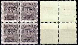 Italia-F01465 - Somalia 1939: Recapito Autorizzatn, Sassone N. 1 (++) MNH - Privo Di Difetti Occulti. - Somalia