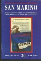 SANBF20---   SAN MARINO,  BOLLETTINO FILATELICO,   N°20,     1996, - FDC