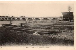 Orléans.. Le Pont De Vierzon Barques Péniche Batellerie Navigation - Orleans