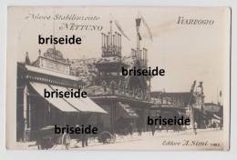 SVENDITA - VIAREGGIO  LUCCA NUOVO STABILIMENTO NETTUNO EDITORE A.SIMI FOTOGRAFICA OPACA  F/P VIAGGIATA  1913 - Viareggio