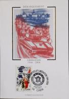 FR. - 2004 - CP 1er Jour - Débarquements Et Libération 1944 - Caen Le 05.06.2004 - SUPERBE - Cartoline Maximum
