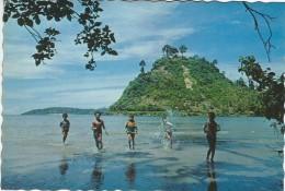 "Playing Kids At ""Taman Nirwana"" Padand West Sumatra.   Indonesia.  A-773 - Indonesia"