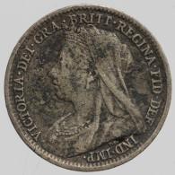 Grande-Bretagne - 3 Pence, 1898 - 1816-1901 : Frappes XIX° S.
