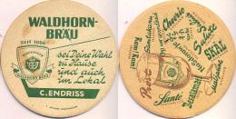 #D114-171 Viltje Waldhorn Bräu - Sous-bocks