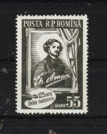 1956 - 125 Anniv Peintre Th.Aman  Mi No 1585 Et Yv No 1467 MNH - 1948-.... Republiken