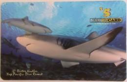 MICRONESIA -  Yap Pacific Dive Resort -white Sharks , 5$, Used - Micronesia