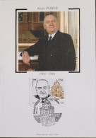 FR. - 2006 - CP 1er Jour - Alain POHER - Strasbourg Le 02.12.2006 - SUPERBE - Cartoline Maximum
