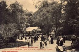 09)    AULUS   Les   BAINS    -  Dans Le Parc De L´   Etablissement  Thermal - Autres Communes