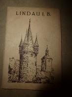 LINDAU   (Allemagne)      Dépliant CPA - Lindau A. Bodensee