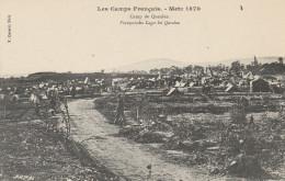 Metz 1870 - Les Camps Français - CPA  Débuts 1900 - Camp Queulen. Ed F. Conrard, Metz. - Metz