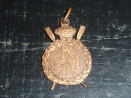 BROCHE INSIGNE - SOUVENIRS DES CHAMPIONNATS D´EUROPE LIEGE 1930 - RARE AVIRON SPORT - Rudersport