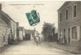 LA CHAPELLE St AUBIN.  Le Haut Du Bourg.  Café Du Commerce.  Geslin. - Zonder Classificatie