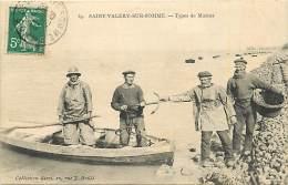 80 SAINT VALERY SUR SOMME - Types De Marins - Saint Valery Sur Somme