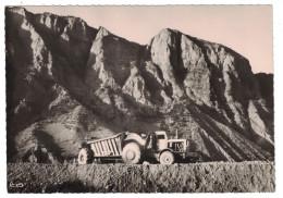 RARE Alpes De Hautes Provence - Barrage De SERRE PONCON Sur La Durance Un Euclid Tracteur Travaux Chantier Industrie - Andere Gemeenten