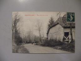 A394. CPA. 10. BALIGNICOURT. Rue De La Voie Creuse.   Beau Plan Animé. écrite & Voyagée 1912 - France