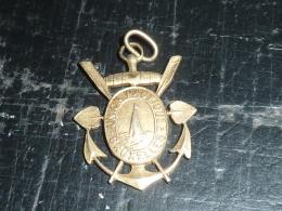 BROCHE INSIGNE ANCIEN - UNION NAUTIQUE BRUXELLES 18 & 19 JUILLET 1926 - RARE AVIRON SPORT - Boats