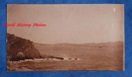 Photo Ancienne Snapshot - SANARY Sur MER - Vue Sur La Cote - Places