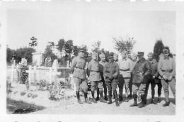PHOTO GROUPE DE SOLDATS FORMAT  6.50 X 4.50 CM - Other