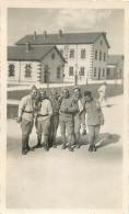 PHOTO GROUPE DE SOLDATS FORMAT  11 X 7 CM - Other