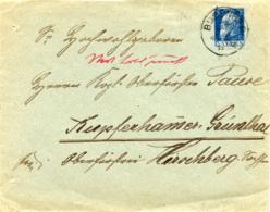 N3548 Altdeutschland Brief Bayern St. Busenberg N. Kupferhamer TypeI - Alemania