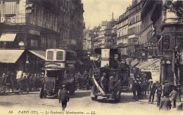 CPSM - PARIS IX° (75) - LE FAUBOURG MONTMARTRE - Distretto: 09