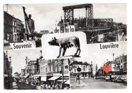 10148-LE-BELGIQUE-Souvenir De La Louvière---------vues Multiples Diverses - La Louviere