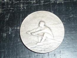 MEDAILLE EN BRONZE AVIRON - UNION NAUTIQUE REGATES DE LILLE - RARE AVIRON SPORT - Rowing