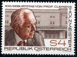 Österreich - Michel  1843 - ** Postfrisch (B) - Clemens Holzmeister - 1945-.... 2. Republik