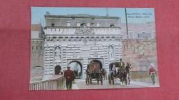 > Malta--  Valletta  Porta Reale Gate-----      -  ------ref 2336 - Malta
