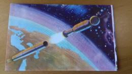 SPACE - 1952 ITALY - IL MONDO DEL FUTURO  # 8 - UFO SOCOUPE OVNI - Kaufmanns- Und Zigarettenbilder