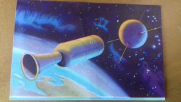 SPACE - 1952 ITALY - IL MONDO DEL FUTURO  # 9 - UFO SOCOUPE OVNI - Kaufmanns- Und Zigarettenbilder