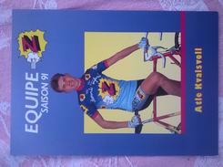 Atle Kvalsvoll Equipe Z Saison 1991 - Radsport