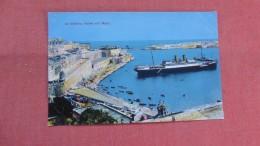 > Malta--  La Valetta  Hafen Von Malta =--ref 2336 - Malta