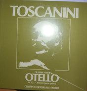 TOSCANINI OTELLO  ATTO I - ATTO II (parte Prima) M/NM LP - Oper & Operette