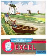 B EX/Buvard Biscottes Excel - Biscottes