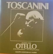 TOSCANINI OTELLO ATTO II (CONCLUSIONE) ATTO III (PARTE PRIMA) M/NM LP - Oper & Operette