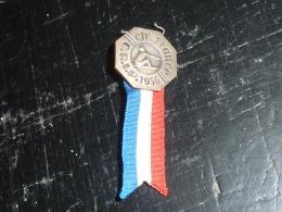 INSIGNE BOUTONNIERE AVIRON CHAMPIONNAT DE FRANCE C.R.I.P. 1936 - Roeisport