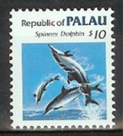 Mwe0849 FAUNA ZEEZOOGDIER DOLFIJN  DOLPHIN MAMMAL DELPHIN DAUPHIN MARINE LIFE PALAU 1986 PF/MNH - Palau