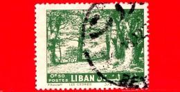 LIBANO - Usato - 1961 - Cedri Del Libano - Cedars - 0.50 - Libano