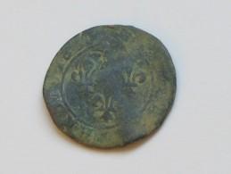 Double Tournois  à Identifier  ***** EN ACHAT IMMEDIAT ***** - 987-1789 Monnaies Royales