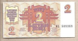 Lettonia - Banconota Circolata Da 2 Rubli - 1992 - Lettonie