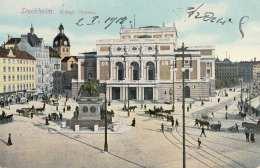 STOCKHOLM - Kungl.Operan, Gel.1921, 10 Öre Marke - Schweden