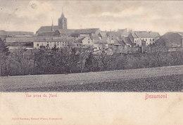 Beaumont - Vue Prise Du Nord (précurseur, Jules Grimar, 1905, Pour Coiffeur De Charleroi) - Beaumont