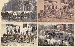 Binche - Lot De 6 Cartes (Carnaval, Gilles, Top Animation, Artcolor) - Binche