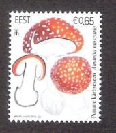 Estonian Mushrooms - Fly Agaric 2016 Estonia MNH Stamp - Estonie