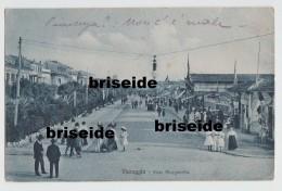 SVENDITA - VIAREGGIO  LUCCA VIALE MARGHERITA F/P VIAGGIATA 1914 - Viareggio