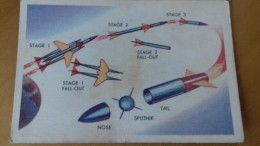 SPACE CARD 1958 CANADA - PARKHURST MISSILES & SATELLITES (50 Cards) # 1 -  UFO SOCOUPE OVNI SCI FI - Kaufmanns- Und Zigarettenbilder